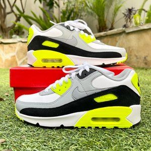 Nike Air max 90 white neon shoes